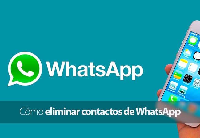 Cómo eliminar contactos de WhatsApp para iPhone