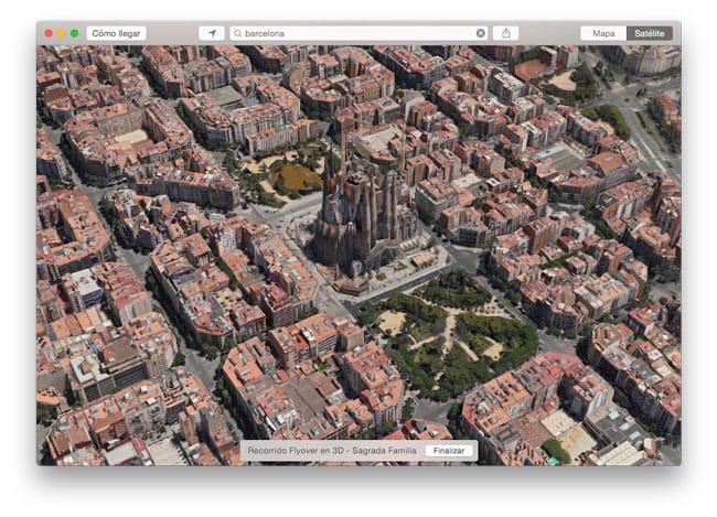 Flyover Barcelona