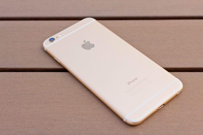 Cámara trasera del iPhone 6 de Apple