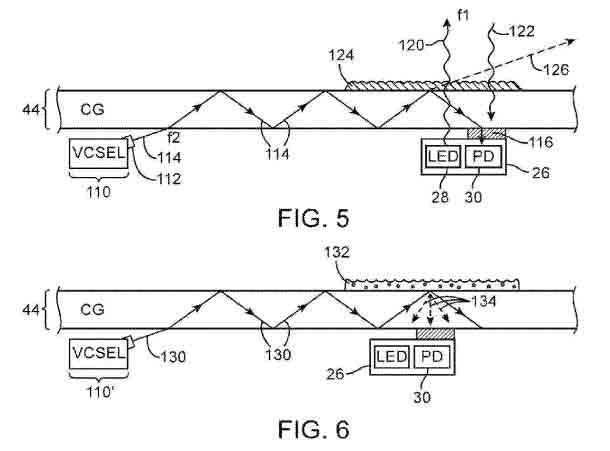 Nueva patente de sensores de proximidad para iPhone