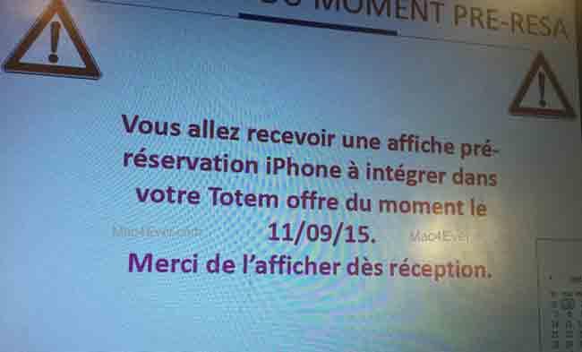Las reservas del iPhone 6s podrían abrirse el 11 de septiembre