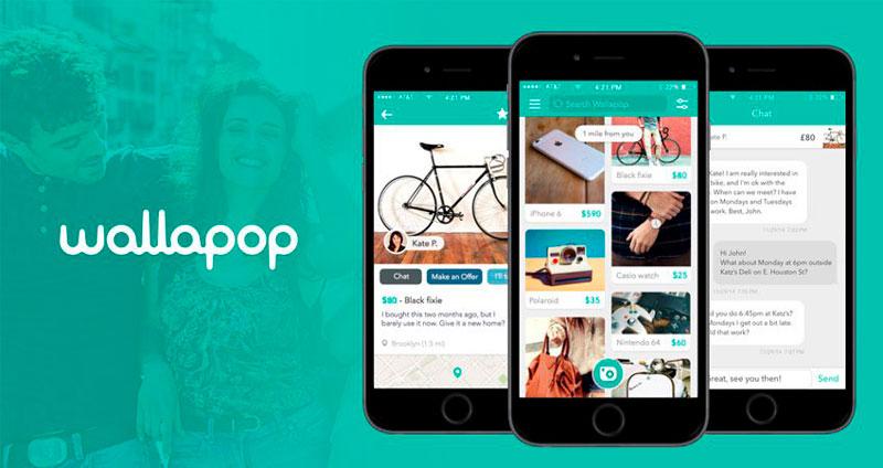 Wallapop para comprar productos de segunda mano