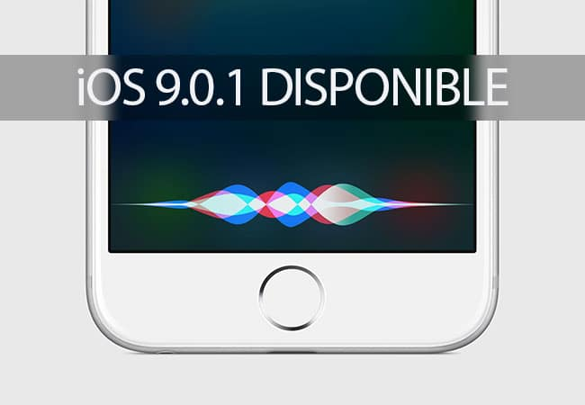 iOS 9.0.1 Disponible