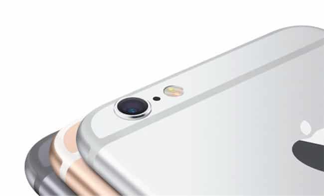 Cámara trasera del iPhone 6s
