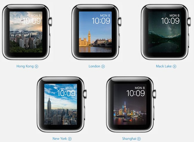 Nuevos Watchfaces para Apple Watch
