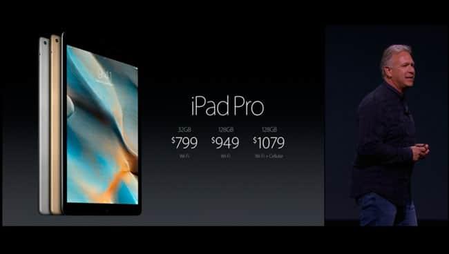 Precios iPad Pro de Apple