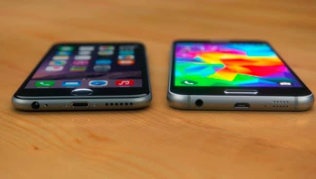 Iphone 6 Vs Samsung S6 Caracteristicas
