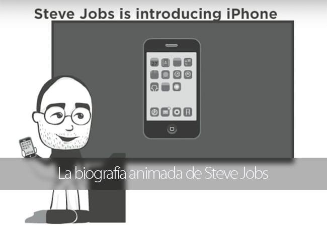 Biografía animada de Steve Jobs