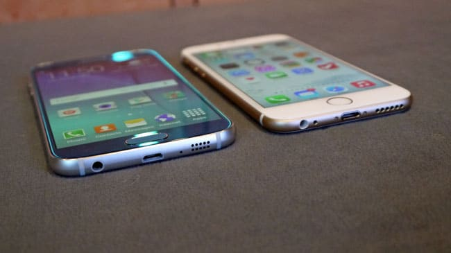 Galaxy S6 vs. iPhone 6s