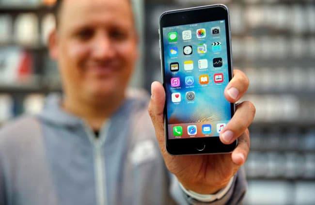 iPhone 6s negro