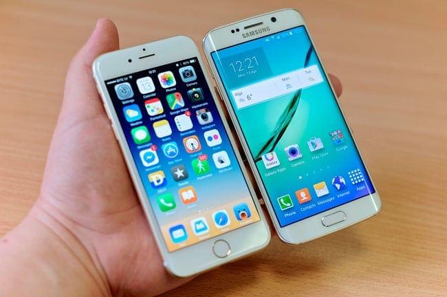 Iphone 8 Vs Galaxy S6 Abmessungen