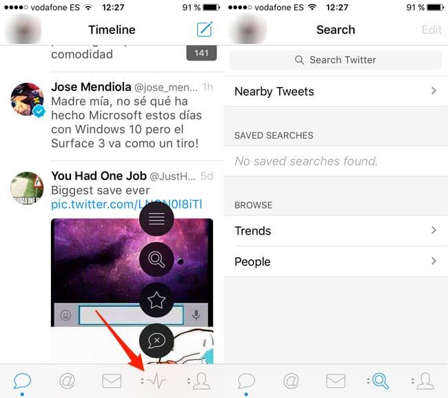Personalizar los botones de Tweetbot 4