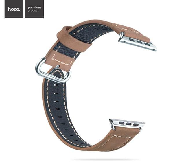 Trasera Correa de cuero para Apple Watch
