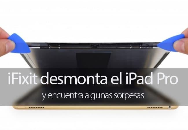 iFixit desmonta el iPad Pro