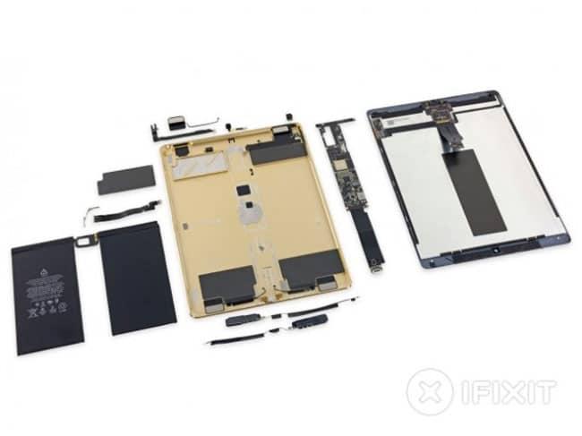 iPad Pro desmontado