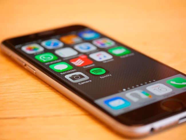 iPhone 6 color gris espacial