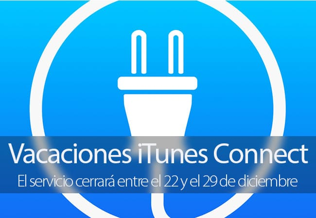 iTunes Connect Vacaciones