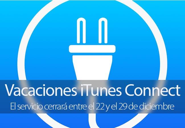iTunes Connect Vacaciones