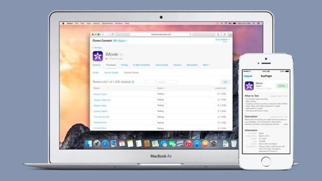 TestFlight de Apple