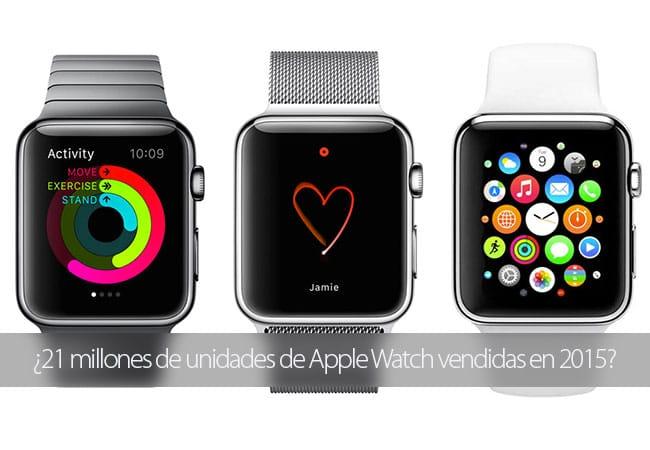 21 millones de Apple Watch