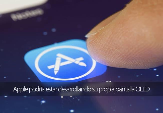 Apple pantalla OLED