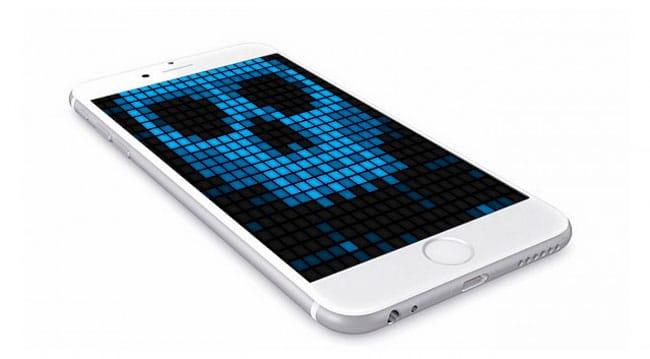 Ataques malware iPhone