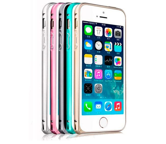 Bumper para iPhone 5/5s de diferentes colores