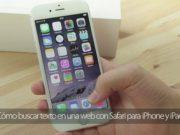 Cómo buscar texto en una web con Safari para iPhone y iPad