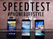 Comparativa de rendimiento entre iPhone 6s Plus, Nexus 6P y Lumia 950 XL