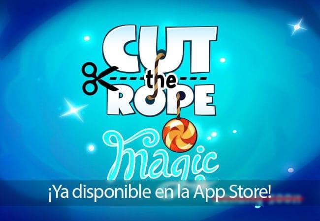 Cut The Rope: Magic ya disponible