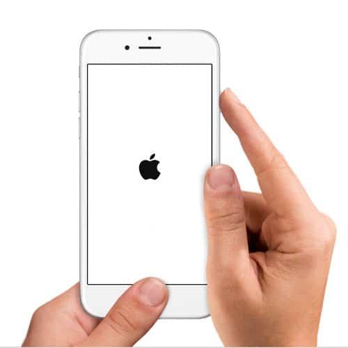Forzar reinicio de iPhone o iPad