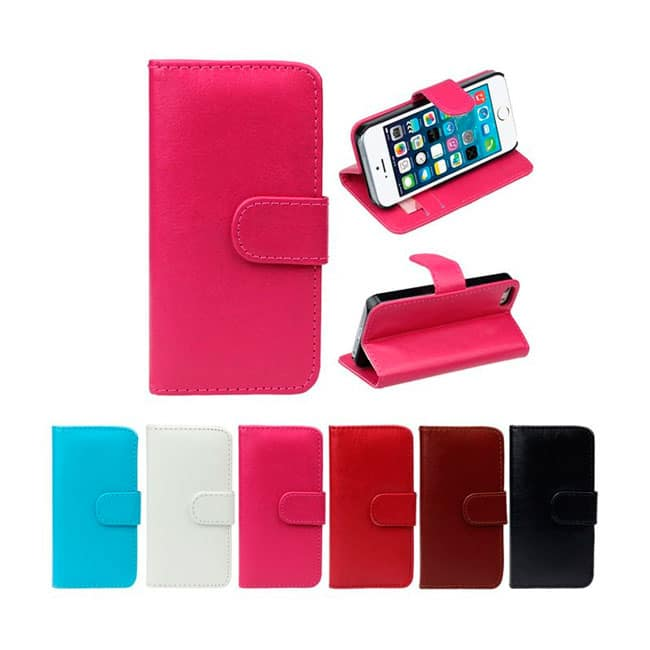 Funda-billetera con tapa para iPhone 5