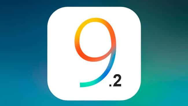iOS 9.2 llega con muchas correcciones de errores
