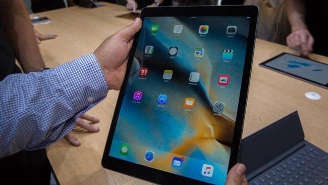 iPad Pro, ligero y portátil