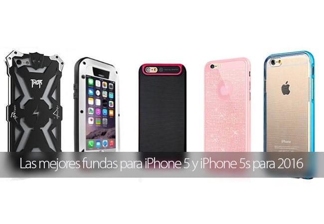 Mejores fundas y carcasas para iPhone 5