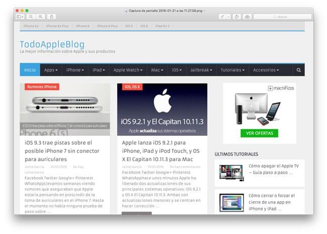 Abrir imagen en Vista Precia para Mac