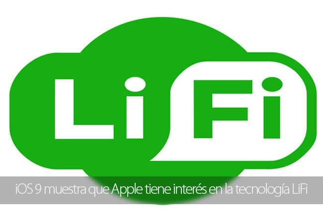 El código de iOS 9 muestra que Apple tiene interés en la tecnología LiFi