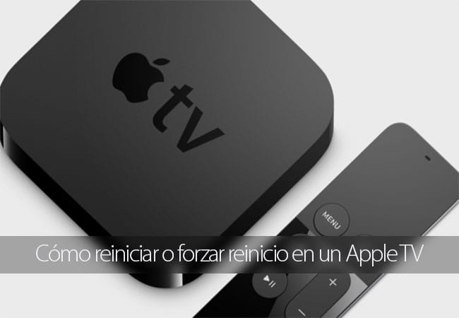 Apple TV: cómo reiniciar o forzar reinicio