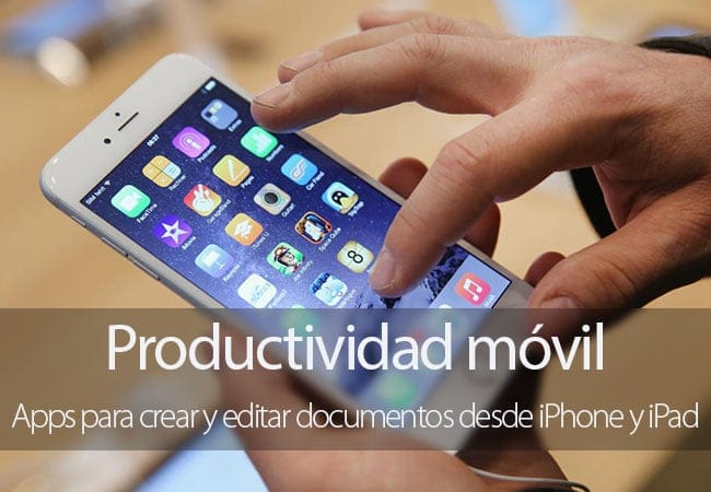 Apps de productividad para iPhone y iPad