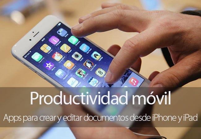 Apps de productividad para iPhone y iPad