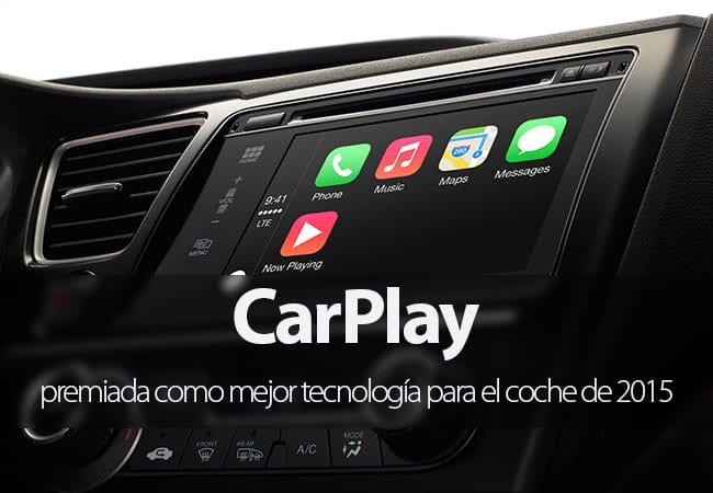 CarPlay, mejor tecnología para el coche de 2015