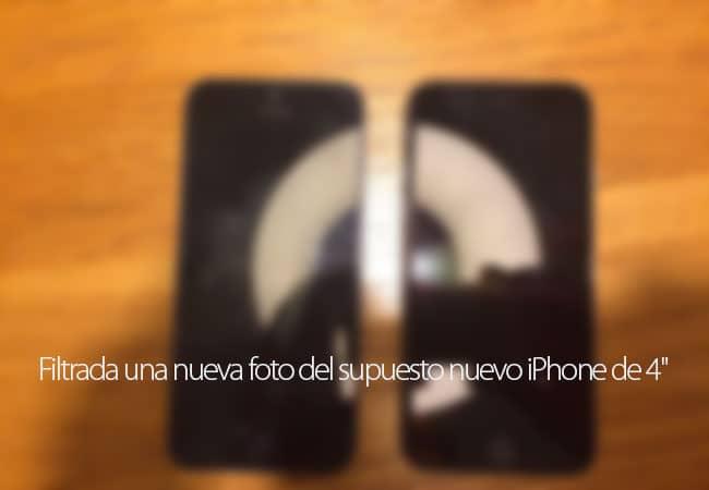 Filtrada una nueva imagen del supuesto nuevo iPhone de cuatro pulgadas