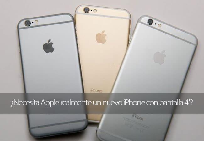 ¿Necesita Apple un iPhone de 4 pulgadas?