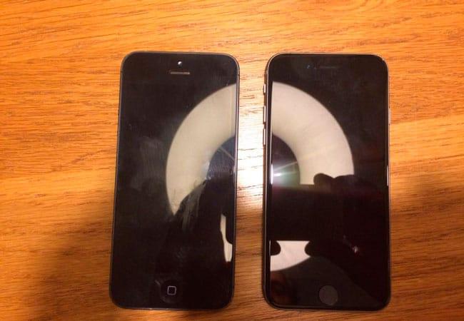 Supuesto nuevo iPhone de 4 pulgadas vs iPhone 5
