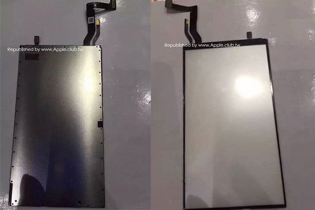 Panel de retroiluminación LCD del iPhone 7
