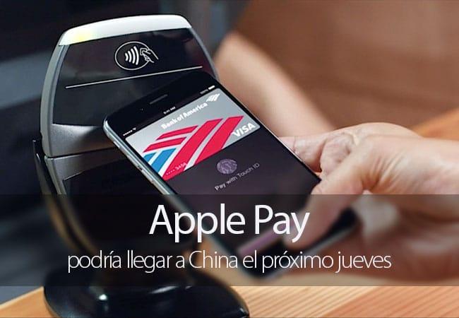 Apple Pay podría llegar a China el 18 de febrero