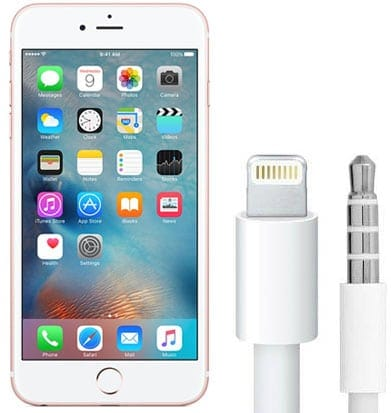Conector auriculares iPhone 7 Lightning
