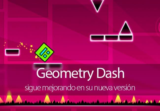 Geometry Dash nueva versión
