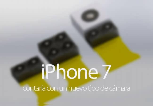 Supuesta nueva cámara del iPhone 7