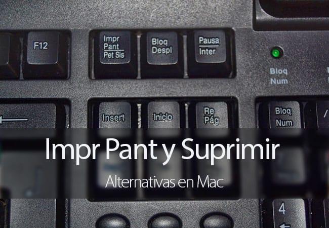 Mac - Alternativas a Suprimir e Imprimir Pantalla